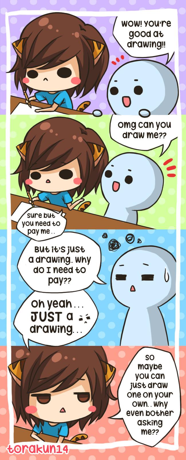 Torakun Comics Draw Me Please Tapas