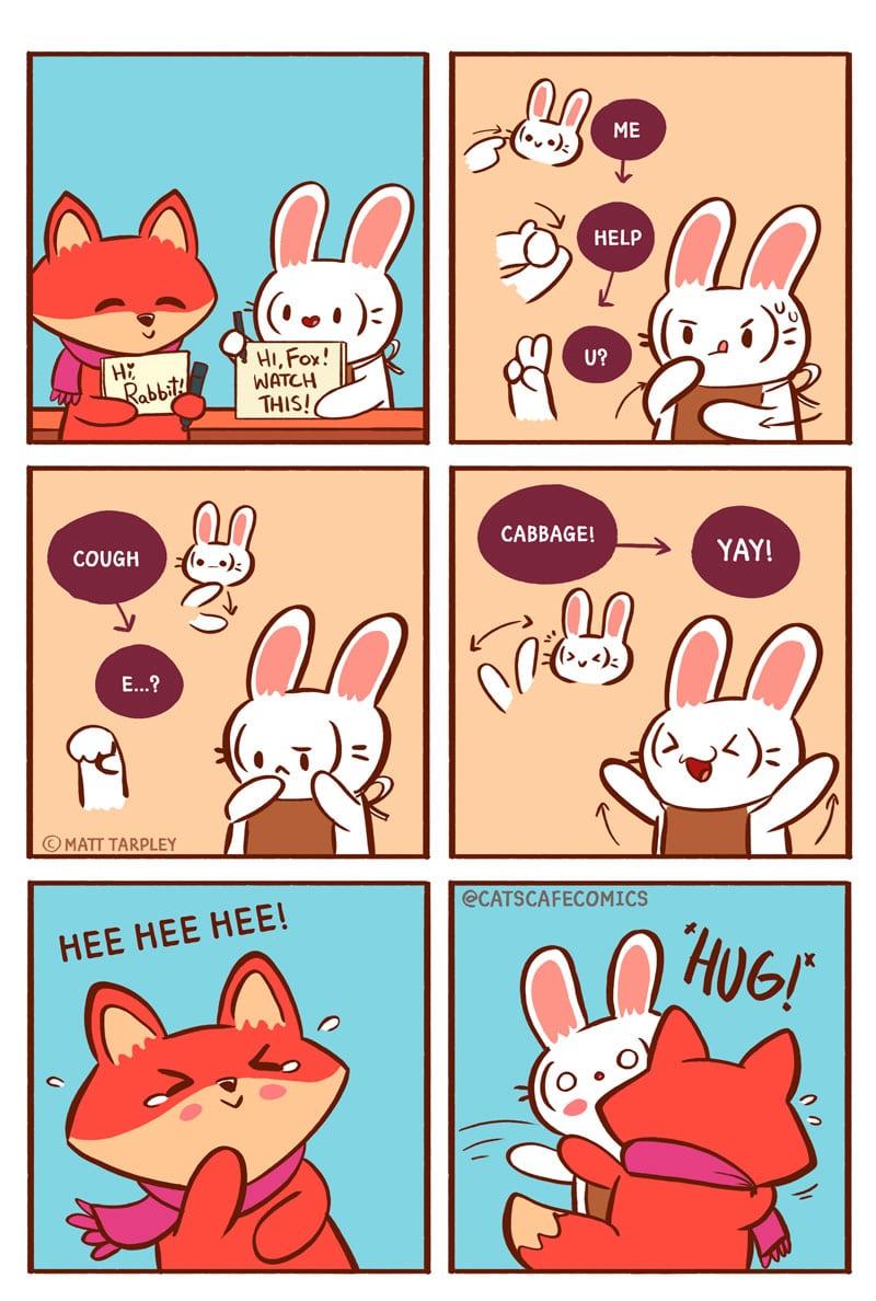 Cat S Cafe Rabbit S Gift Tapas