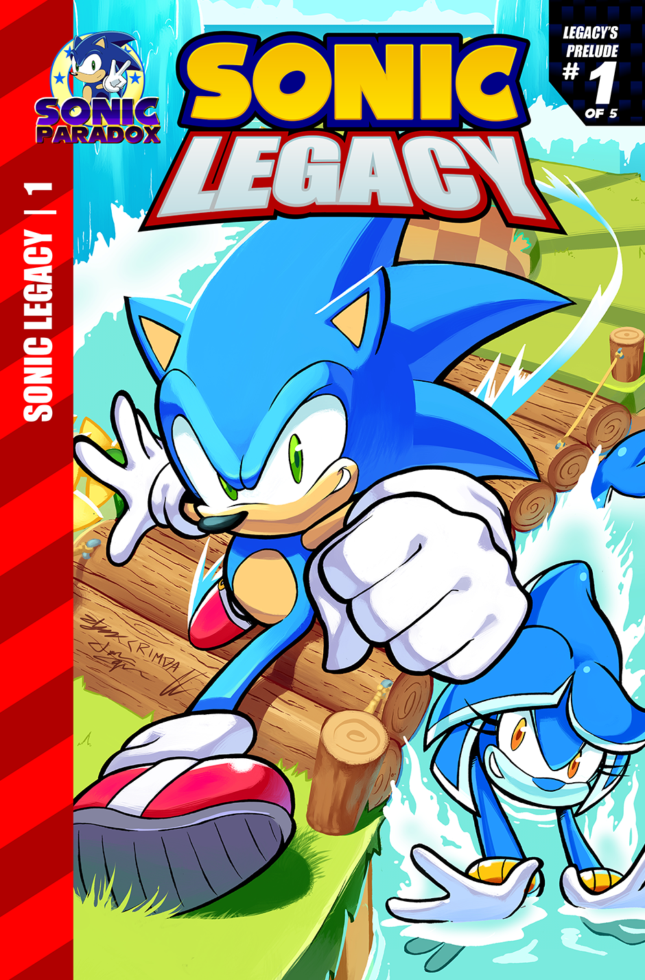 Sonic Legacy Issue 1 On Land Or By Sea Tapas