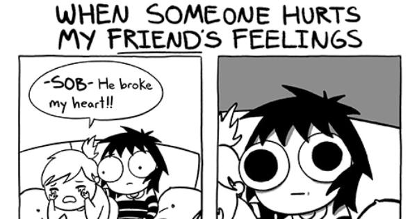 my friend hurt my feelings