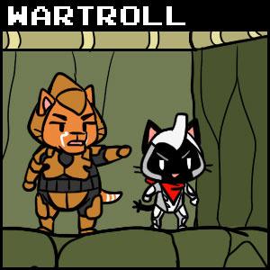 The Gamercat Wartroll Tapas